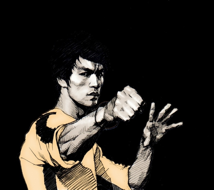 Grunge_Bruce_Lee-wallpaper-9192502